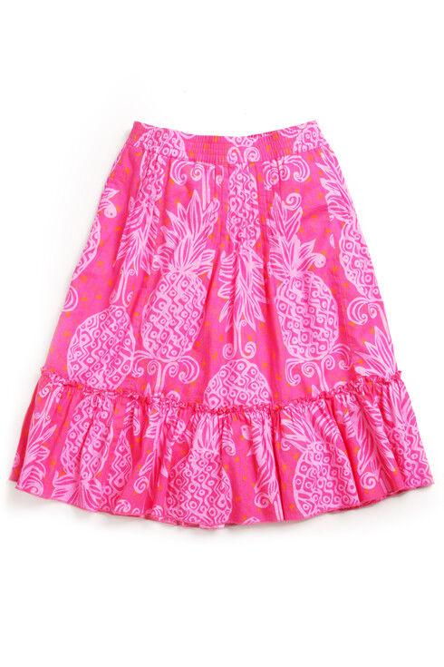 Lilly Pulitzer Largo Daiquiri Pink Linen Skirt 0