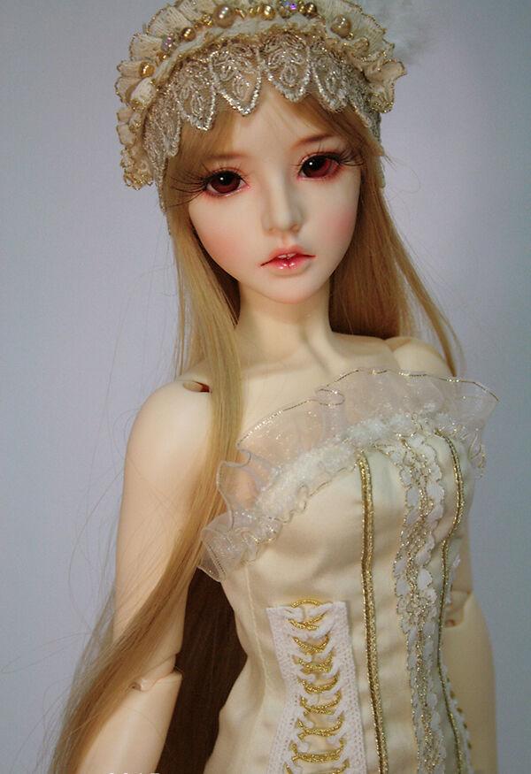 1 3 muñeca de BJD Juah ojos Gratis + Maquillaje de Cara Cuerpo Nuevo