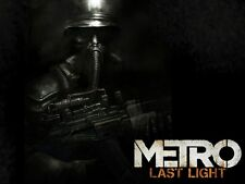 POSTER METRO 2033 REDUX 2034 LAST NIGHT ARTYOM MOSCA HORROR VIDEOGAME PC PS4 #4