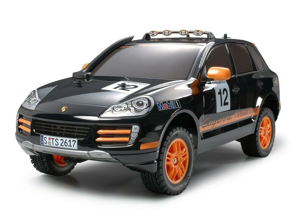 2007 Tamiya Rc auto  No.406 Porsche Cayenne S Transsyberia Kit 1 10 Scale 58406  garantito