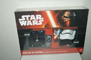 Games-54-Cards-Star-Wars-Dnas-Masque-Darth-Vader-And-Storm-Trooper-New