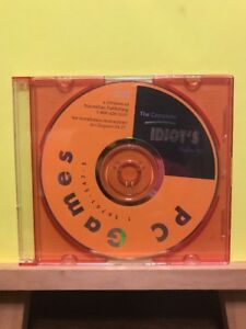 The-Complete-Idiot-039-s-Guide-for-PC-Games-Software-Disc-PC-CD-Rom-Alpha-Books