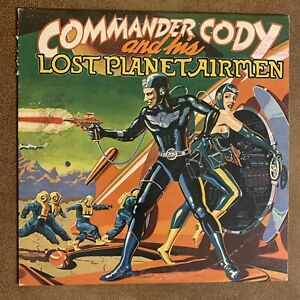 Commander Cody And His Lost Planet Airmen  LP Warner Bros. Records 1975: Promo