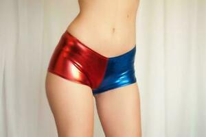 New-Adult-Women-Ladies-Cosplay-Costume-Harley-Quinn-Suicide-Squad-Halloween