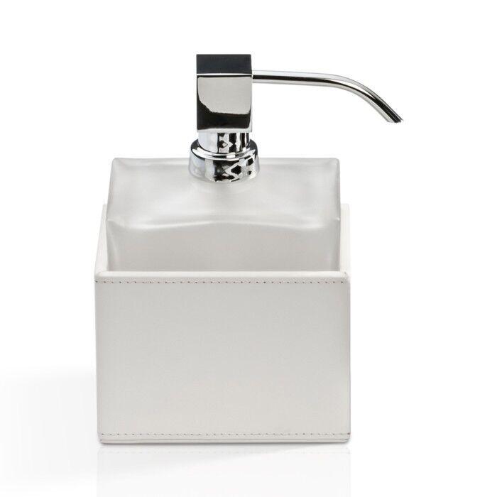 Decor Walther - braunie Seifenspender Seifenspender Seifenspender weiß   Glas satiniert 7fba3d