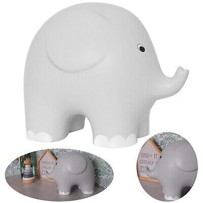 Jabadabado Spardose Elefant grau Keramik mit Verschluß
