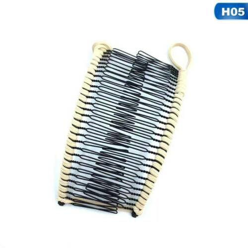 Vintage Banana Hair Clip Christmas Accessory Stretchable Comb Multipurpose.vzYL