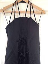 Vivienne Westwood Red Label DesIgner Dress Evening Italian Size 40 UK 6 8 Black
