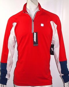 46cd43b104 Tommy Hilfiger burton athletic 1 4 zip mock neck size small new with ...