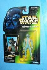 Kenner Star Wars Power of the Force Red Card Greedo Action Figure New!