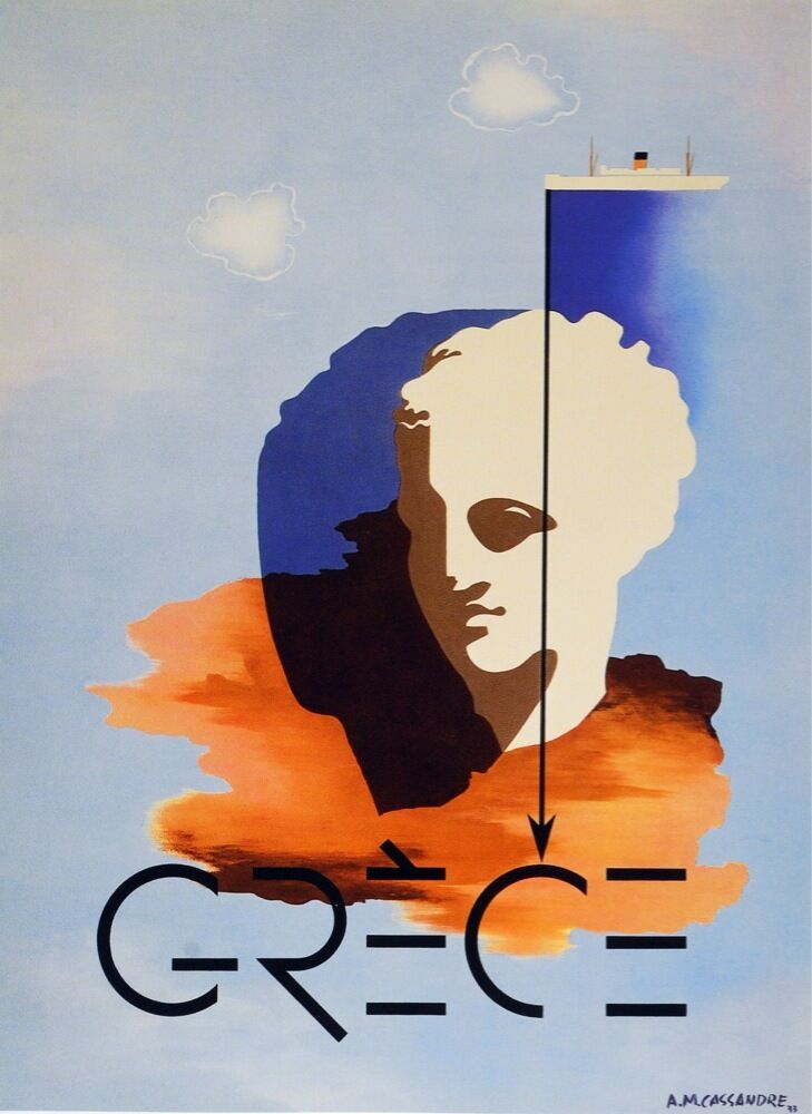 2814.Grece.Greece Travel POSTER.French Travel Decoration for Room,Kitchen,Home