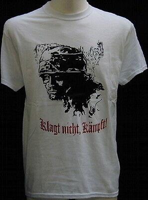 schwarz,Militär,Bundeswehr,Armee,WH,Kreta,Armee T-Shirt Klagt nicht,kämpft