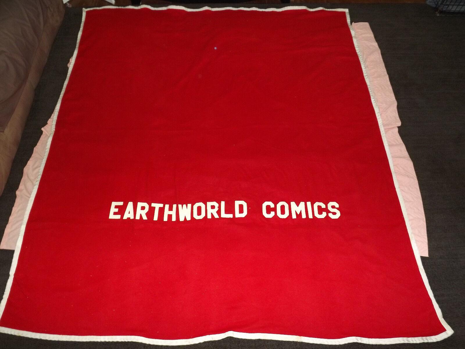 VINTAGE EARTHWORLD COMICS    FLEECE HORSE BLANKET COOLER