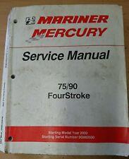 2001 2003 Repair Manual Mariner Mercury 115 Ps 4zyl4takt Efi Werkstatthandbuch Ebay