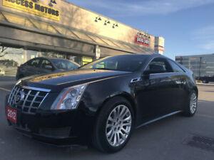 2012 Cadillac CTS 2dr Cpe RWD