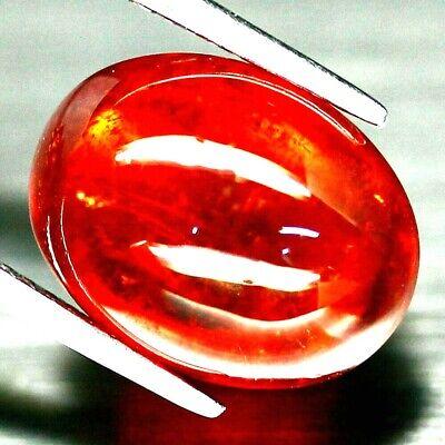 Liefern Top Big Spessartine : 9,60 Ct Natürliche Orange Rot Spessartin Aus Namibia