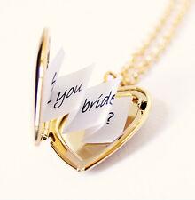 Pendant Valentine lover birthday gifts sets Heart Photo Locket necklace