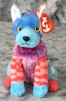 Ty Beanie Baby Hodge Podge The Dog DOB July 27 2002 Stuffed Animal Toy Beanbag