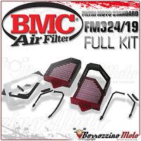 FULL KIT BMC FILTRO DE AIRE DEPORTIVO LAVABLE FM324/19 DUCATI 748 1996 96