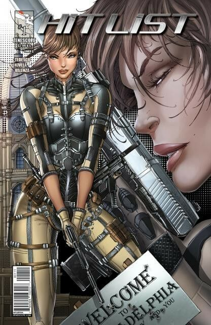 HIT LIST #1 TYNDALL COVER A ZENESCOPE