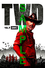 THE WALKING DEAD TV Show PHOTO Print POSTER Art Rick Grimes Andrew Lincoln 007
