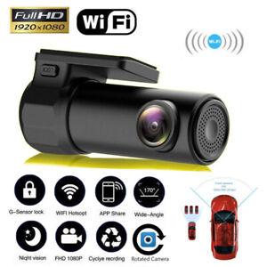 HD 1280*720 Mini Wifi Car DVR Camera Video Dash Cam Recorder Night Vision 360°