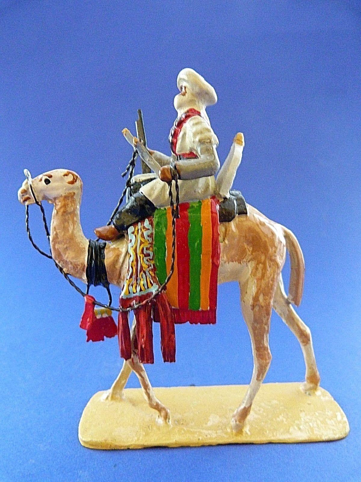 Lead soldier - French camel corps - armée française des conquêtes coloniales - 4