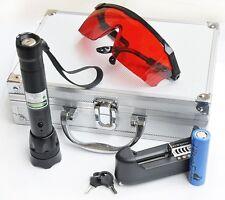NEW Green Beam Light Laser 1 w High Power Pointer Pen Battery Charger BOX