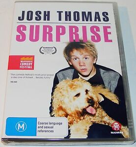 JOSH-THOMAS-Surprise-Warehouse-Comedy-Festival-New-amp-Sealed-Dvd