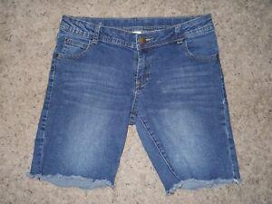 9976f229196 Girls Plus Size TOTAL GIRL Denim Jean Bermuda Length Shorts Size 12 ...