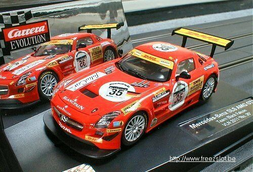 Mercedes Benz SLS AMG GT3 career Ref. 27403 Nevus 1 32 Slot