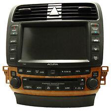 ACURA TSX Navigation GPS System Radio 6 Disc Changer CD Player Display 7GB0 OEM