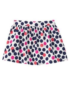 GYMBOREE-CIAO-PUPPY-MULTI-COLOR-DOT-WOVEN-SKIRT-5T-NWT