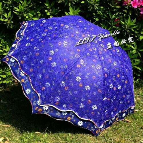 lady fancy lace umbrella