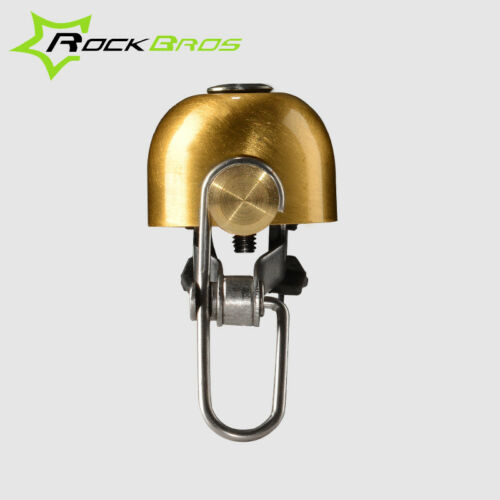Multi Color RockBros Classical Vintag Cycling Bike Handlebar Small Horn Bell