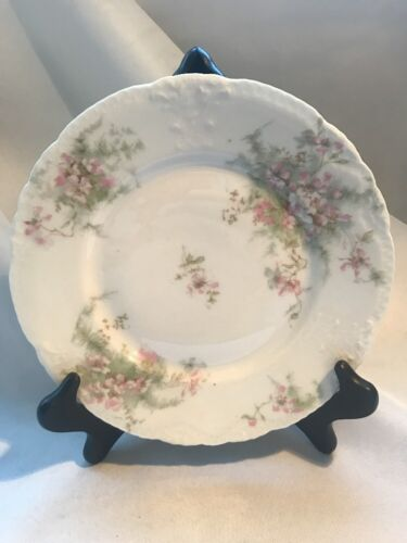 "Theodore Haviland Limoges France~8/"" Salad//Dessert Plate ~Vintage Apple Blossom"