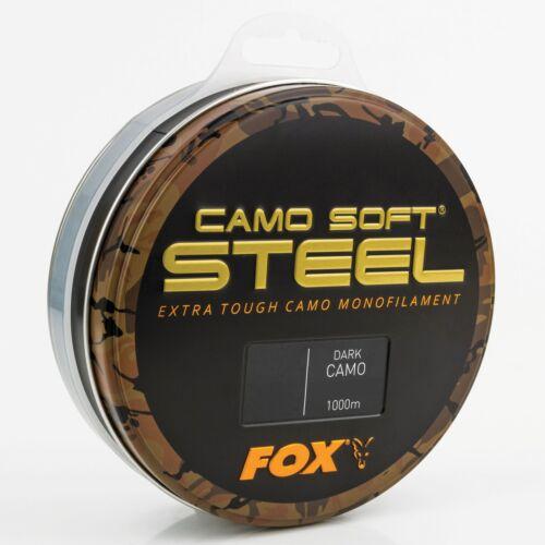 Varianten Fox Soft Steel Dark Camo Lauflänge 1000m versch 0,03€//m