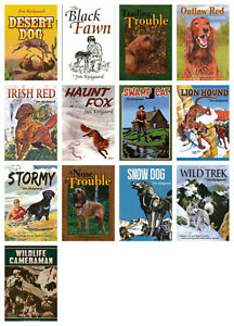NEW-Animal-Stories-Set-of-13-Books-by-Jim-Kjelgaard-Paperback-Swamp-Cat-Stormy