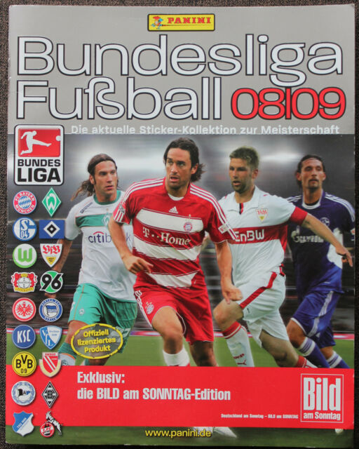 Fußball Football PANINI SAMMELBILD ALBUM BUNDESLIGA 2008/09 m. 66 von 496 Bilder
