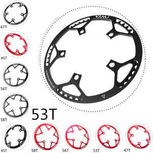 Folding-Road-Bike-Chainring-Chain-Ring-BCD-130mm-45-47-53-56-58T-Red-Black