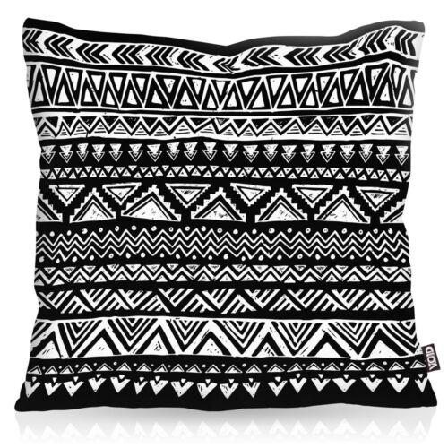 Aztek funda de almohada outdoor indoor hipster patrón zigzag Aztec aztecas ethno río