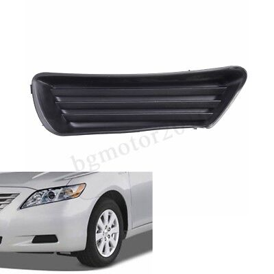 2x Fog Lamp Light Cover Hole Trim Black LH/&RH fit 2010 2011 Toyota Camry Vehicle
