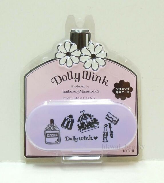 Koji Jp Dolly Wink Tsubasa Masuwaka False Eyelash Case (for Storage) Purple 2012