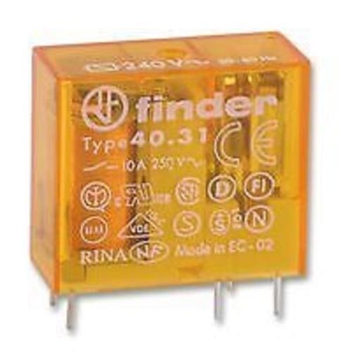 Finder 24 volt 10amp AC Relay SPCO popular in Boiler Controls