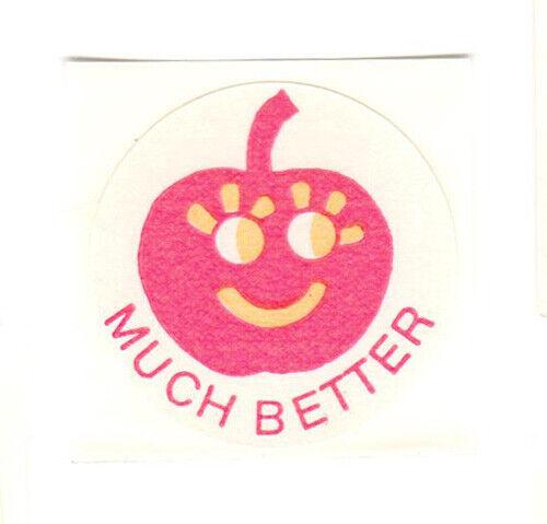 Vintage CTP 77 1977 Scratch n Sniff Cherry Matte Sticker