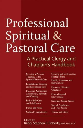 Professional Spiritual and Pastoral Care: A Practical Clergy and Chaplain's Hand 3