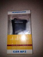Digital Mp3 Player Fm Modulator , Mp3 Wma Wireless