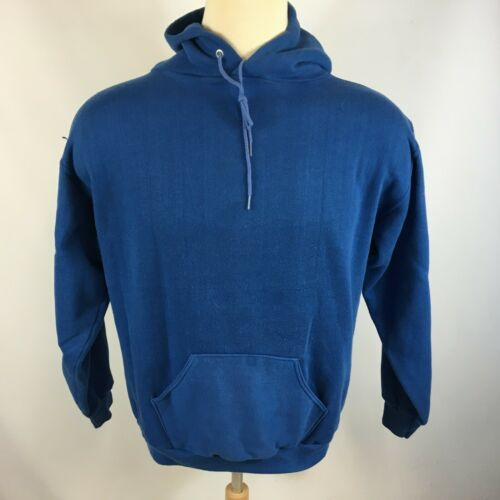 Vintage 60s 70s Russell Gold Tag Blue Blank Plain… - image 1