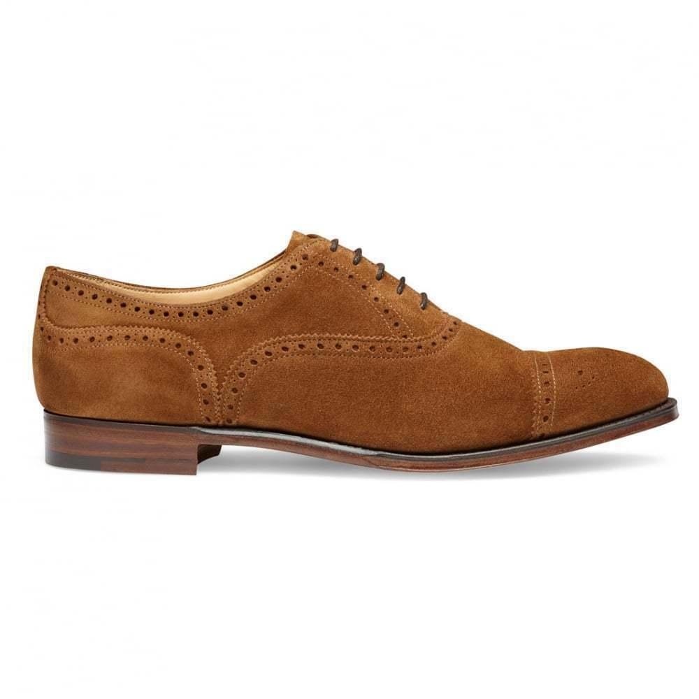 Hecho A Mano Para Hombre Genuino Beige Gamuza acordonados formal Zapatos Oxford Formales
