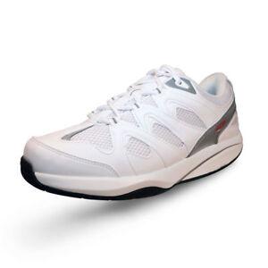 d23b3345fbdd MBT Women s Sport 2 (Le) White Athletic Walking Shoe (42 EU 11-11.5 ...